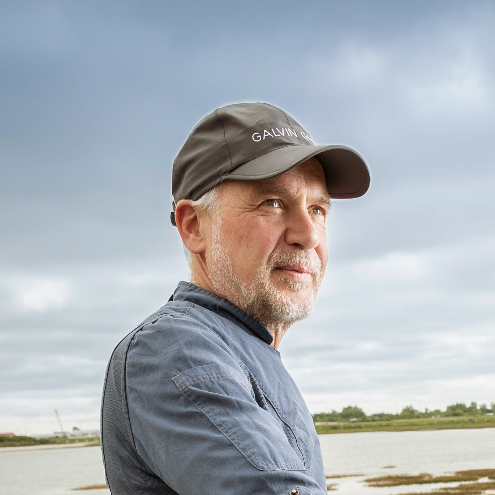 Porträtfoto des Norderneyer Inselmetzgers Harald Deckena