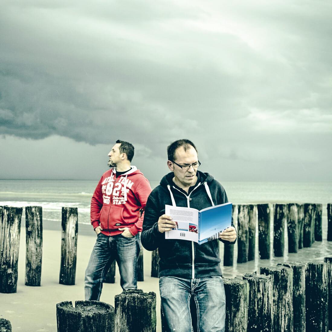 Die Macher des ahoi! norderney Magazins am Nordseestrand.